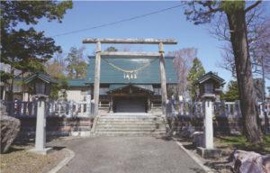 現在の拝殿外観